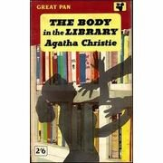 Christie, Agatha: THE BODY in the LIBRARY - brukt bok